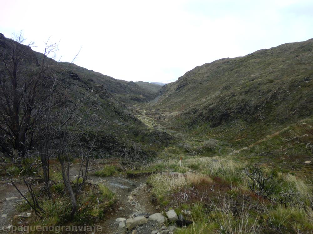 Quebrada de los Vientos, Refugio Grey – Campamento Italiano, Torres del Paine
