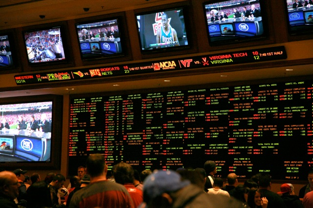 South Point sports book
