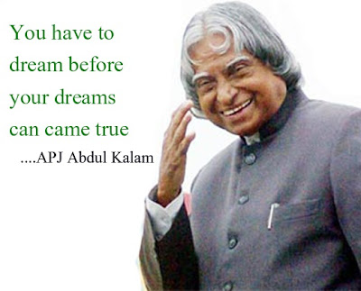 Inspiring Quotes From The Truly Inspiring Person- A.P.J Abdul Kalam