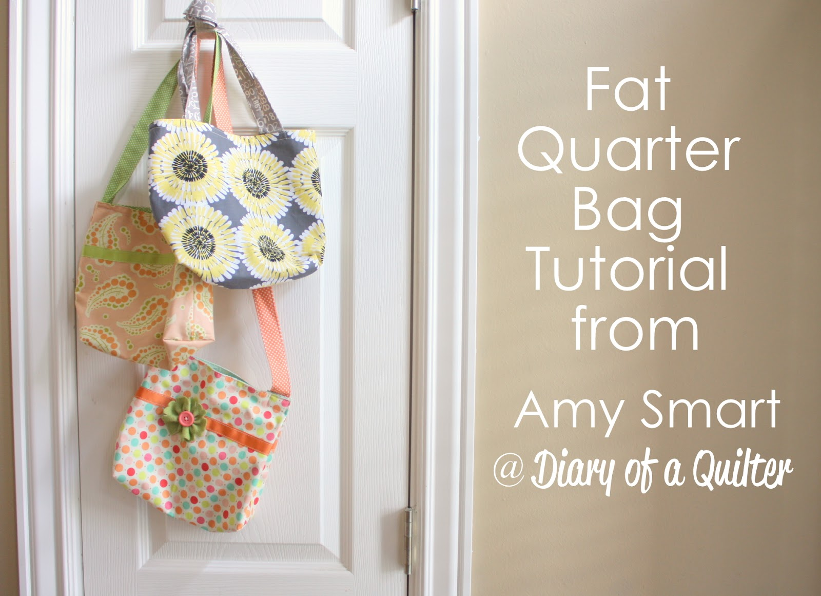 Shoulder Bags: Messenger Bag Pattern Using Fat Quarters