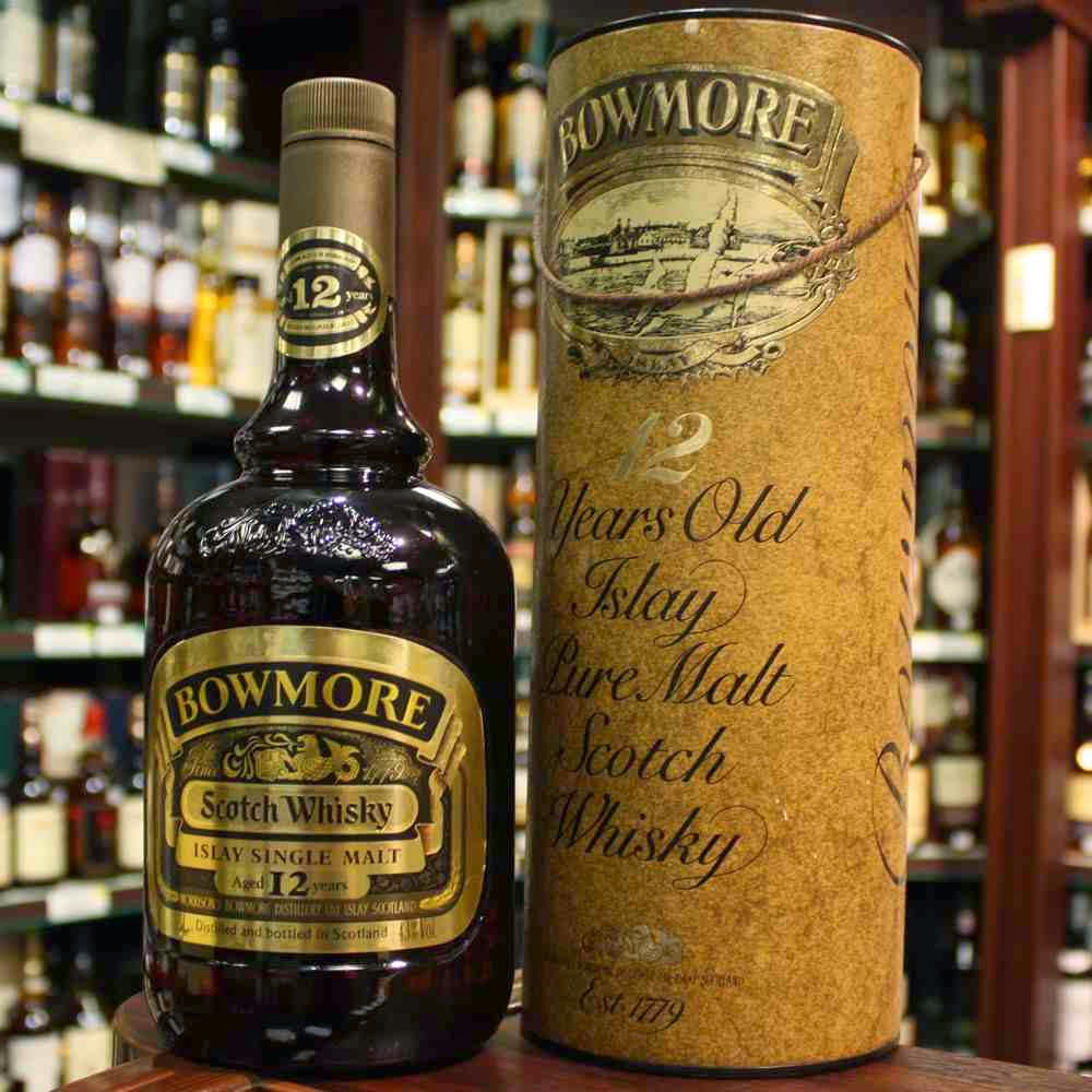 A 148 years old bottle of whisky.