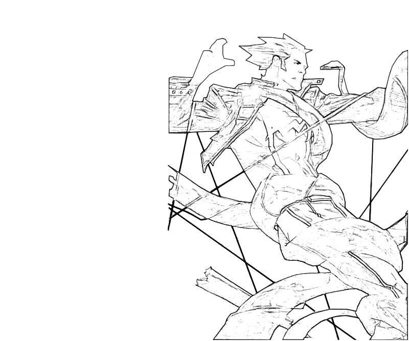 Printable leonard samson attack hulk coloring pages