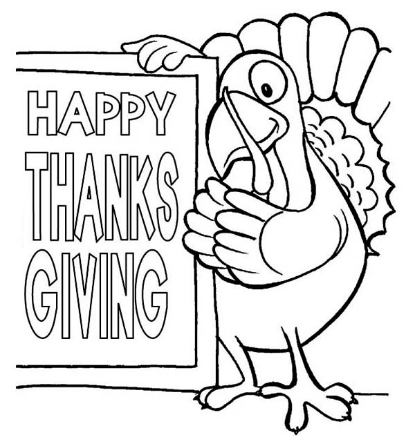 happy thanksgiving coloring pages - photo#33