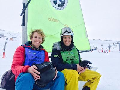 Souvenirs du Trophée Mer Montagne avec François Gabart et Aurélien Ducroz.