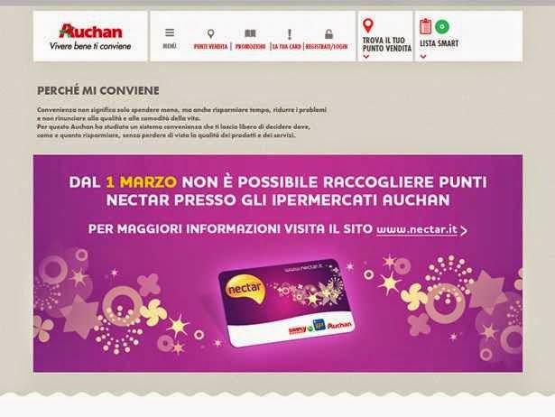 Raccolta Punti Auchan 2015