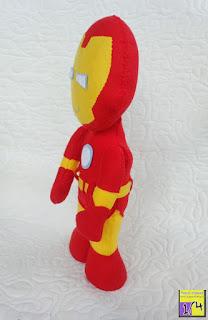Boneco Homem de Ferro em feltro