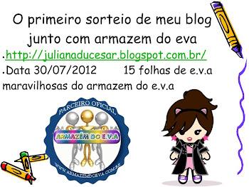 promoção do blog da Juliana