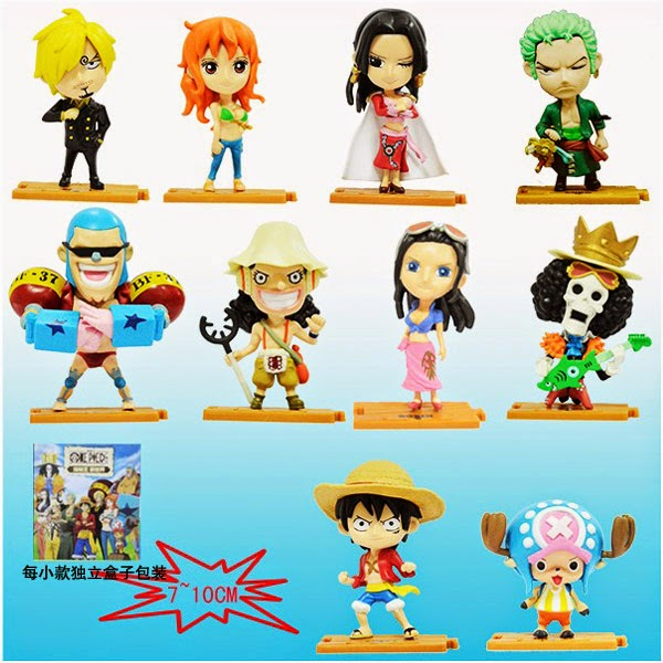 Jual Action Figure One Piece Chibi Puzzle