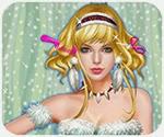Làm tóc cho ca sĩ Taylor Swift, game trang diem online