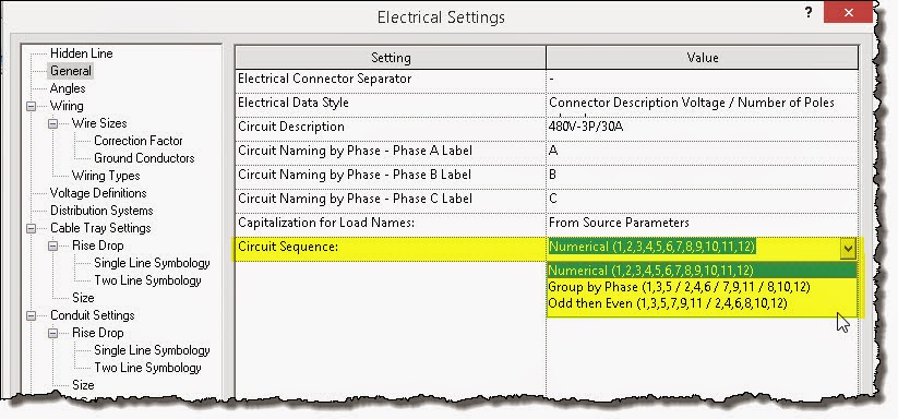 Revit OpEd: Revit 2015 R2 - MEP Circuit Sequence and Recently Used on autodesk electrical, industrial electrical, drawing electrical, sketchup pro electrical, engineering electrical,