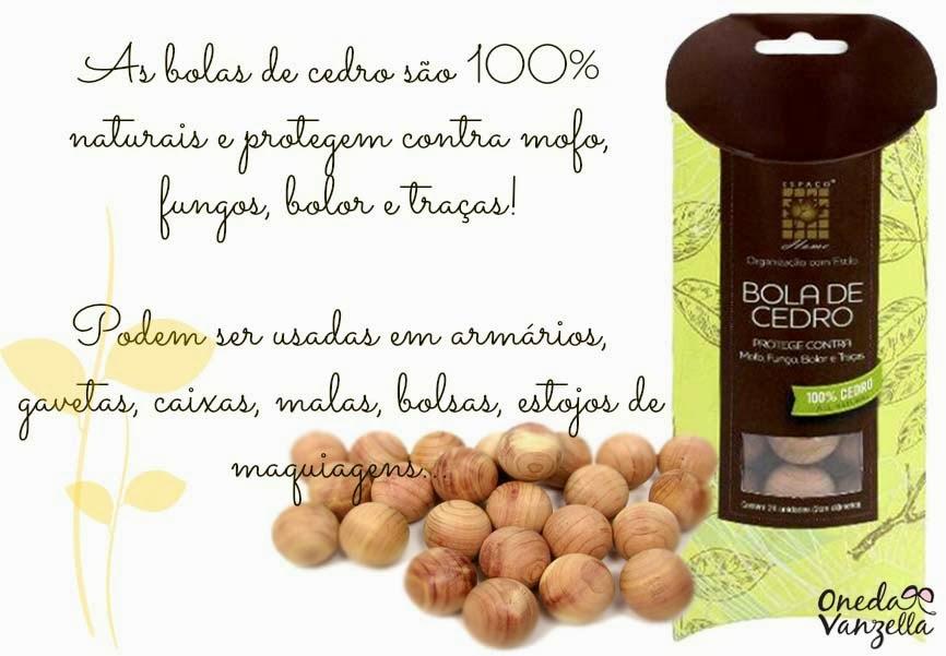 Blog Oneda Vanzella   Dica  Bolinhas de Cedro + Papel Perfumado para ... 342e4202ae61c