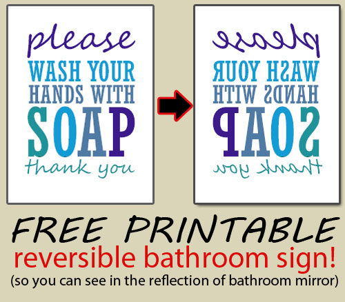 Free Printable Restroom Signs Pictures