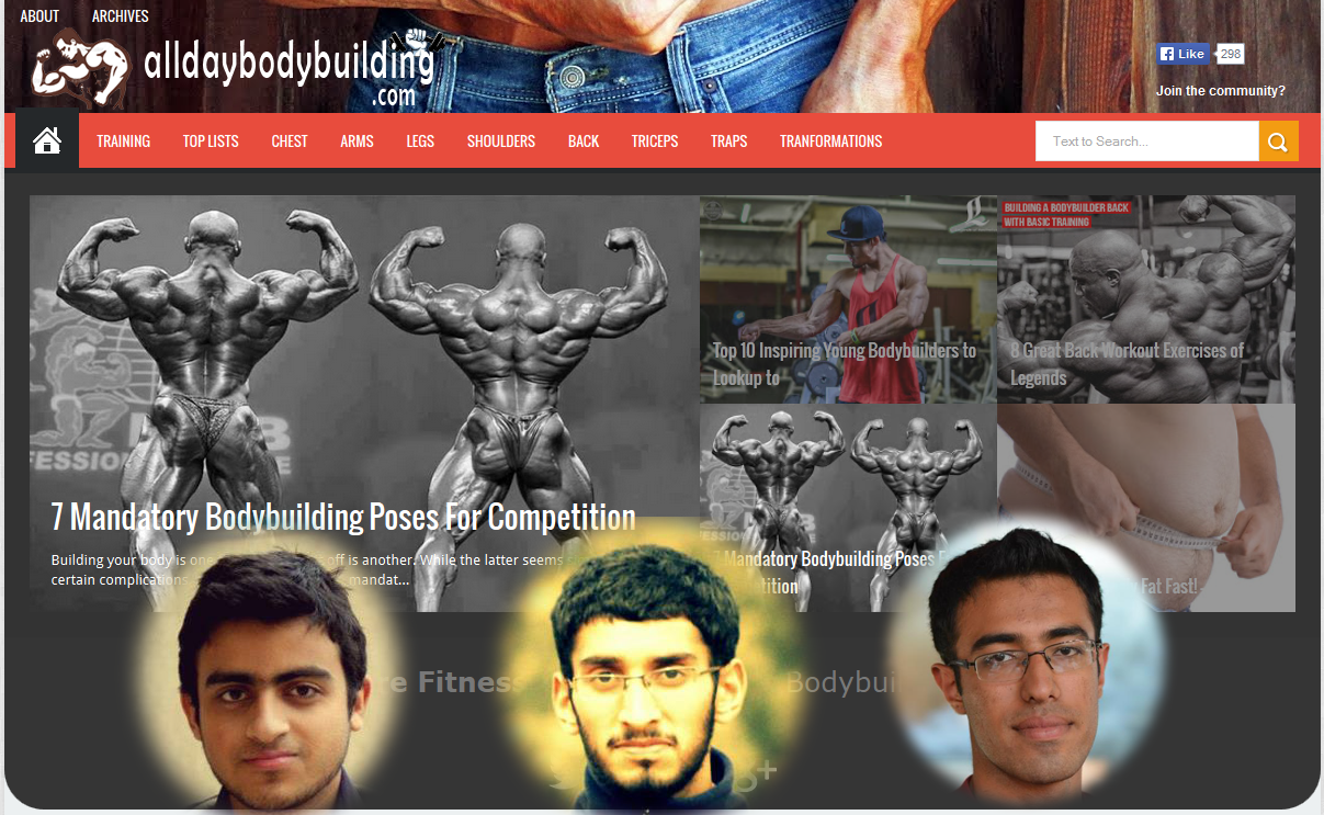 Launching AllDayBodyBuilding.com \0/ Can't Thank Enough