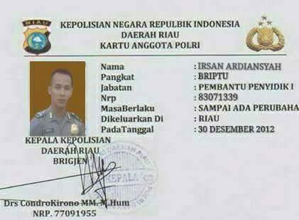 Liputan Hanin Atiqah Berita Riau Www Jejakkasus Info Melalui Tim Lidik Jejak Kasus Hanin Para Modus Polisi Tni Pelayaran Gadungan Satu Persatu Mulai