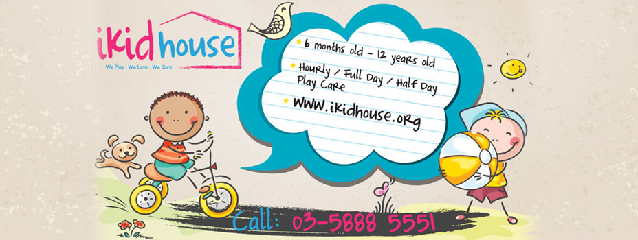 Puchong Child Care Center, Nursery Services - iKid House
