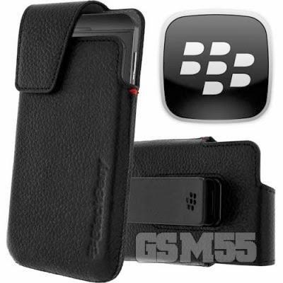 Housse noire pour BlackBerry Z10