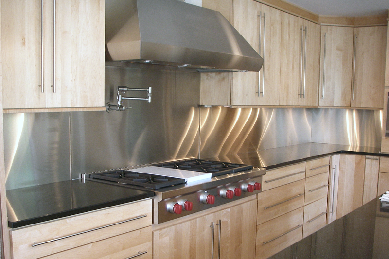 Stainless Steel Backsplash  Buy quality stainless steel backsplash ...