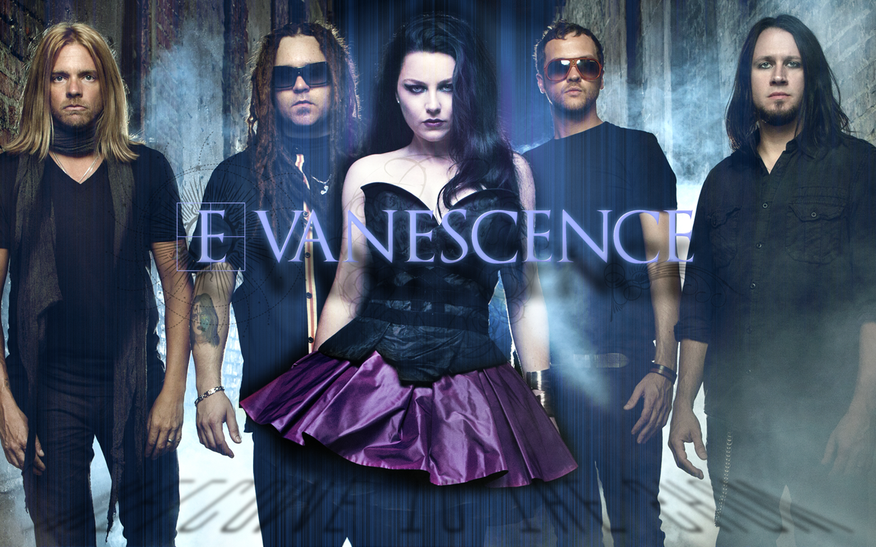 Evanescence Banda Wallpaper Evanescence