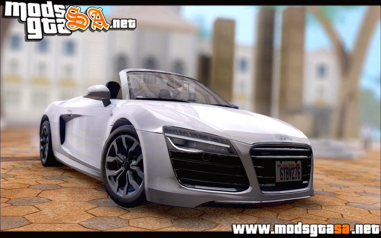 SA - Audi R8 Spyder v10 2014