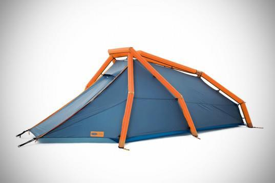 Wedge Tent Tubes. Supports ... & ARTOPIATECTURE