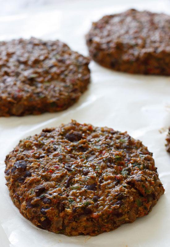 Deidra Penrose: Black Bean Burgers