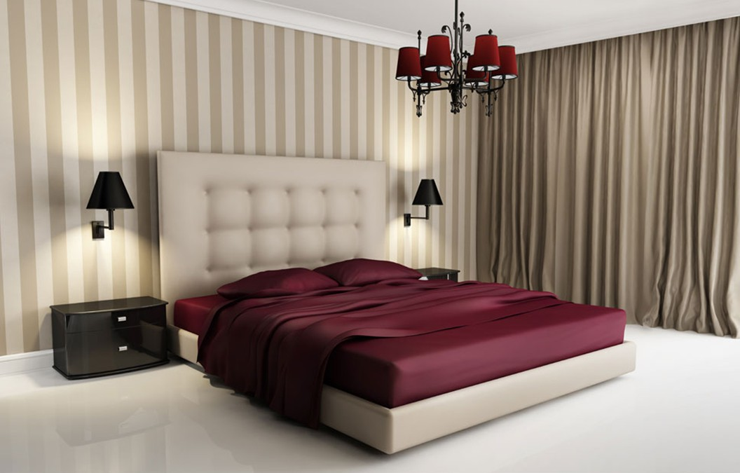 trendy 3d interiors - 3d Design Bedroom