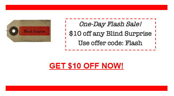 blind surprise coupon code