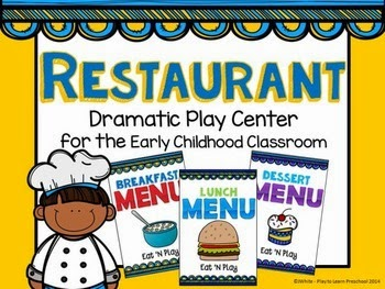http://www.teacherspayteachers.com/Product/Restaurant-Dramatic-Play-Center-1318189