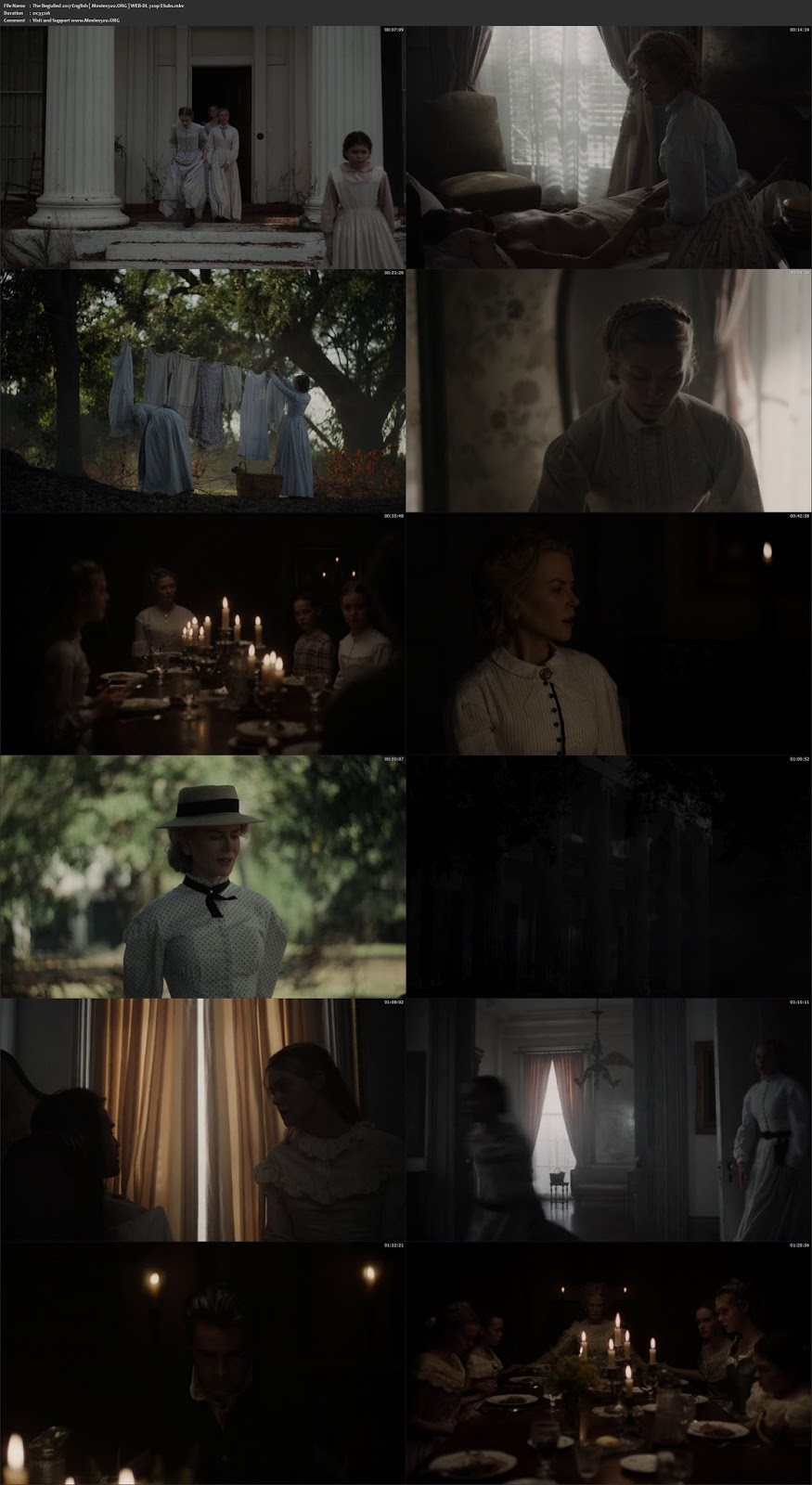 The Beguiled 2017 Hollywood 277MB WEB DL 480p at gamezun.com