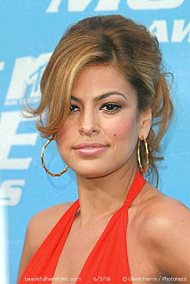 Hairstyles for Halter Dresses - Celebrity Hairstyle Ideas
