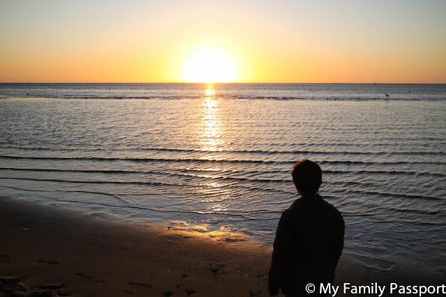 puesta de sol africa