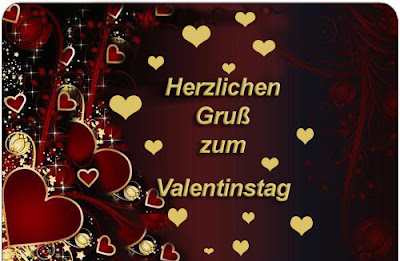 Valentinstag Herzen Gruss