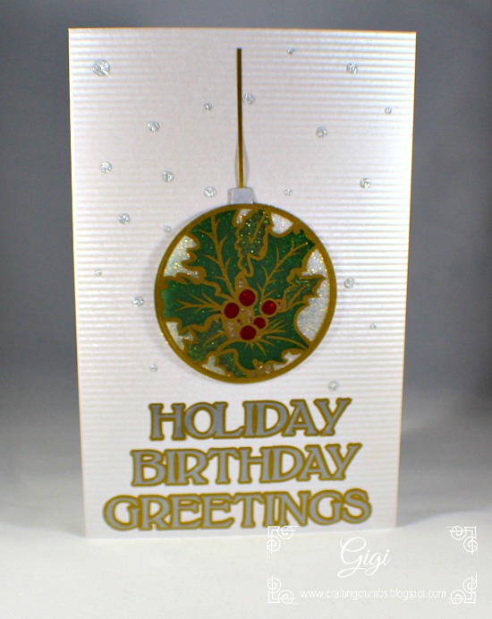 Crafting Crumbs December Birthday Cards