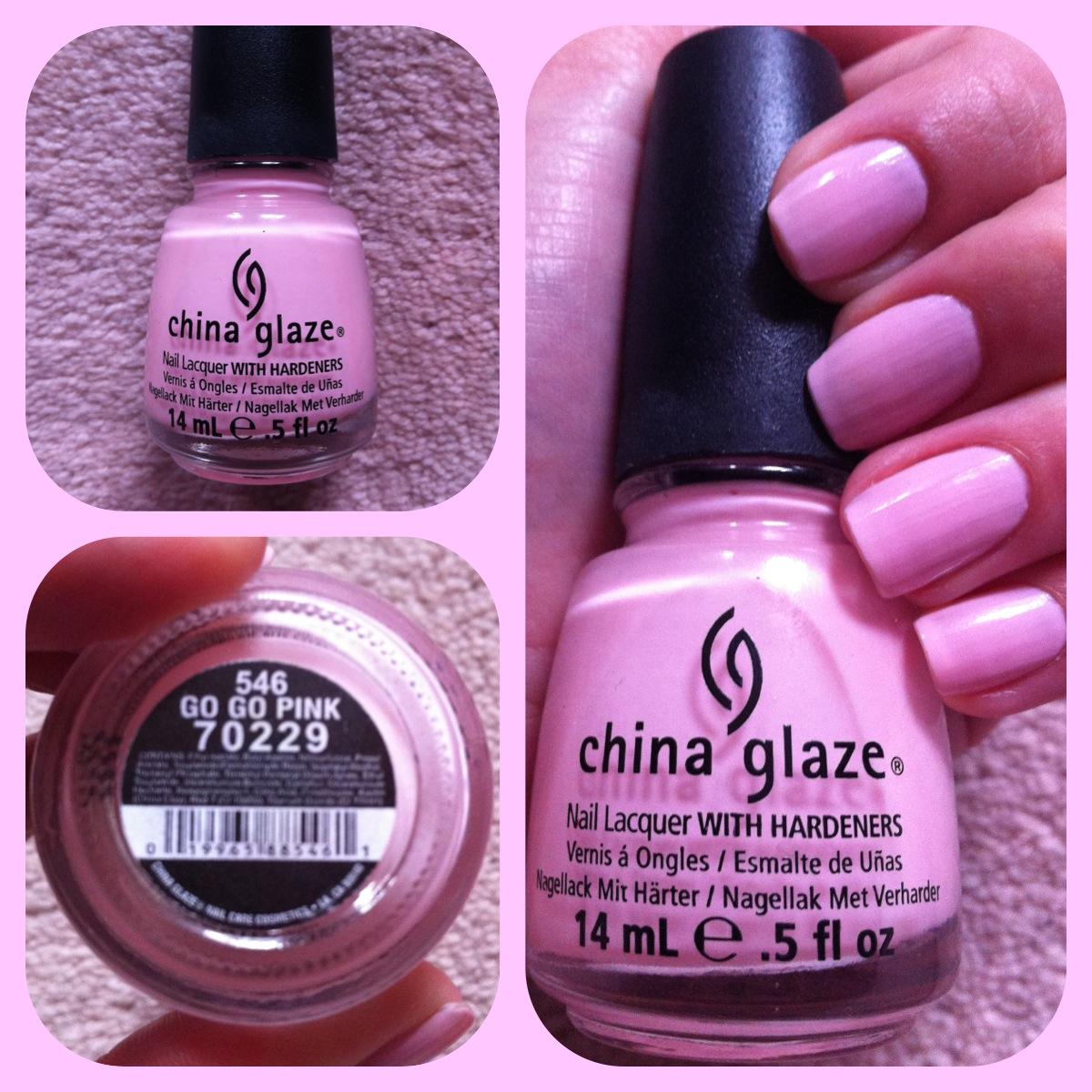 China Glaze Red Nail Polish: NOTD: China Glaze - Go Go Pink
