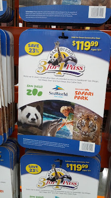 San Diego 3-for-1 pass includes San Diego Zoo, SeaWorld, San Diego Safari Park