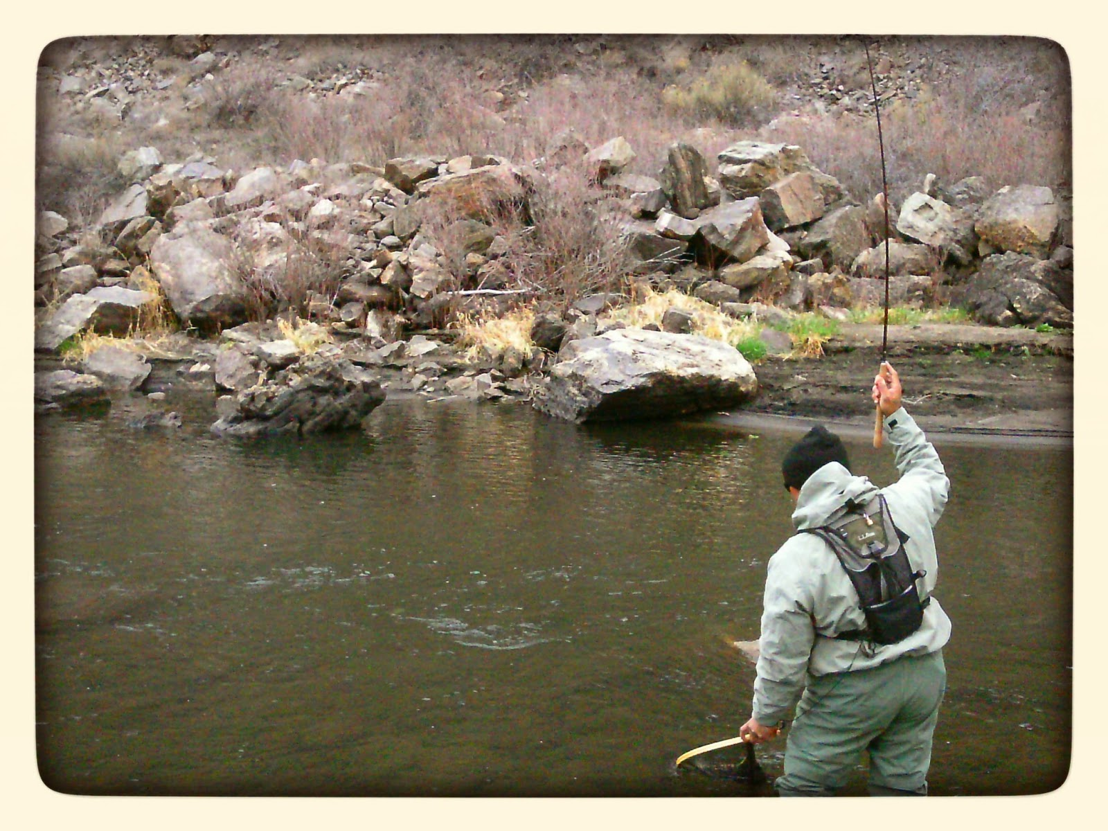 the noco nympher poudre river fishing report 4 5 2013