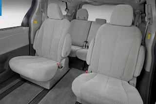 Toyota sienna car 2013 interior - صور سيارة تويوتا سيينا 2013 من الداخل