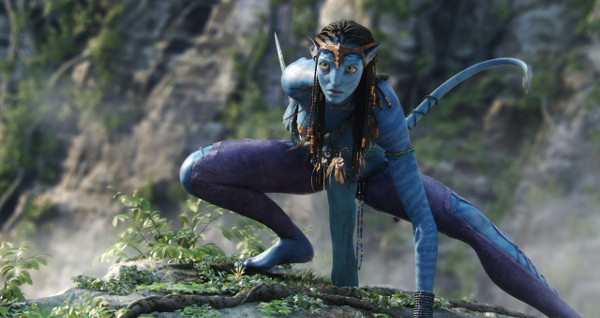 How do the Na'vi's culture of avatar contrast to the real life native americans?