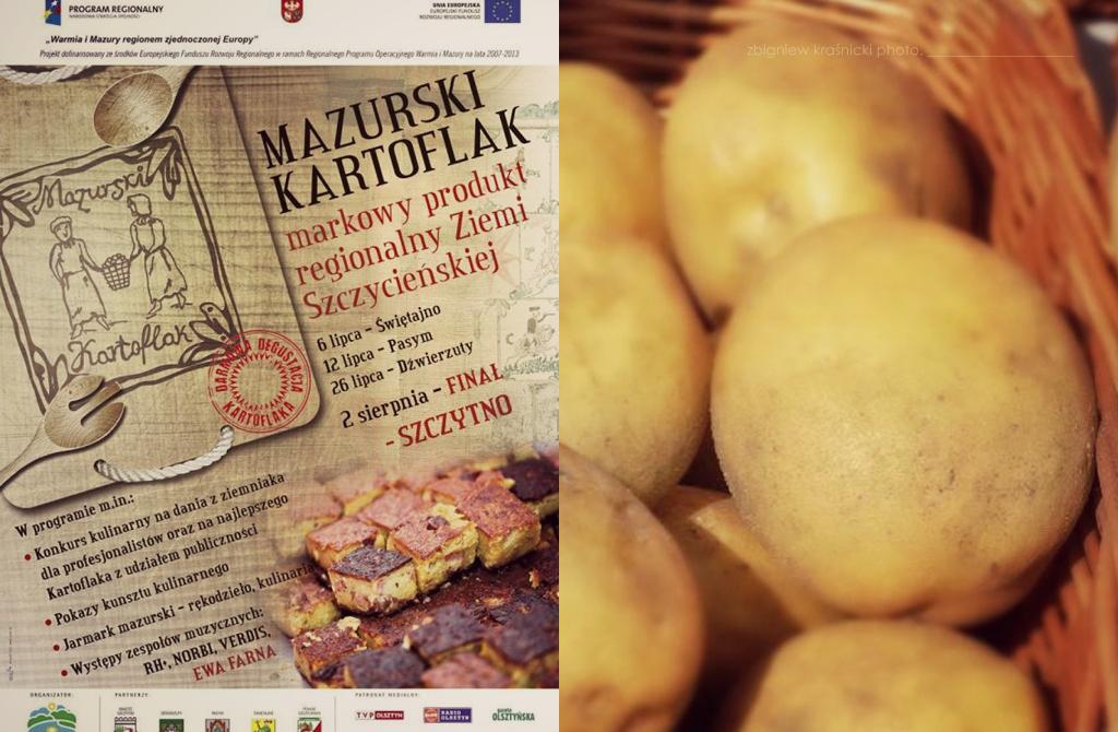 Mazurski Kartoflak w Szczytnie i 34 stopnie w cieniu