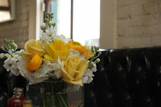 Verbena Floral Table Arrangements