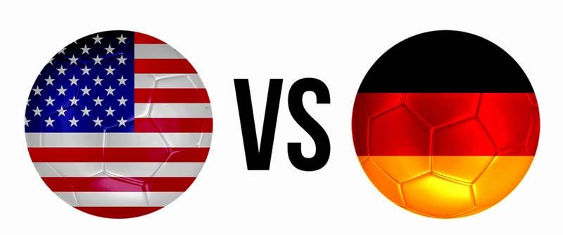 EE.UU. 0 - 1 Alemania. Grupo G