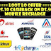 Rs.30 Cashback offer on Rs.50 recharge or more