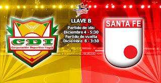 Itagüi Ditaires Vs Santa Fe - Cuartos de Final