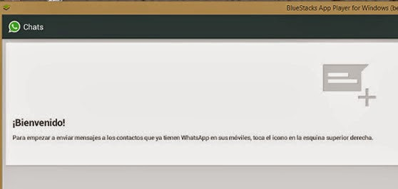 validar whatsapp bluestacks