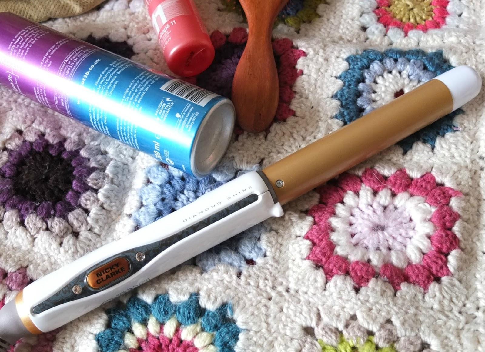Nicky Clarke Diamond Shine Pro Salon Styling Wand Review