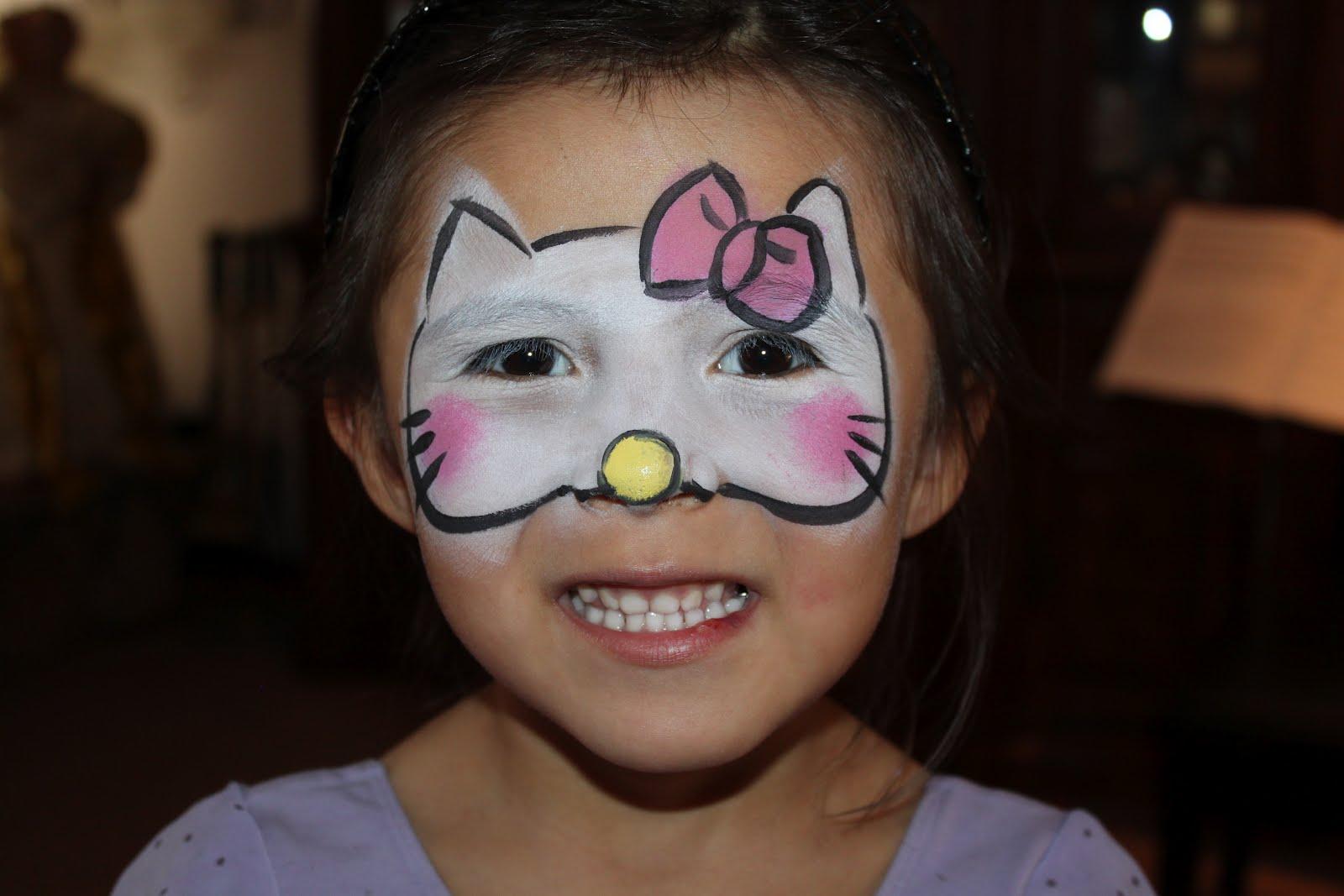 Face Painting Hello Kitty Lulu pop