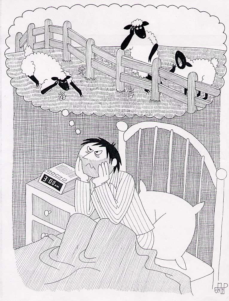Cara Mengatasi Gangguan Tidur