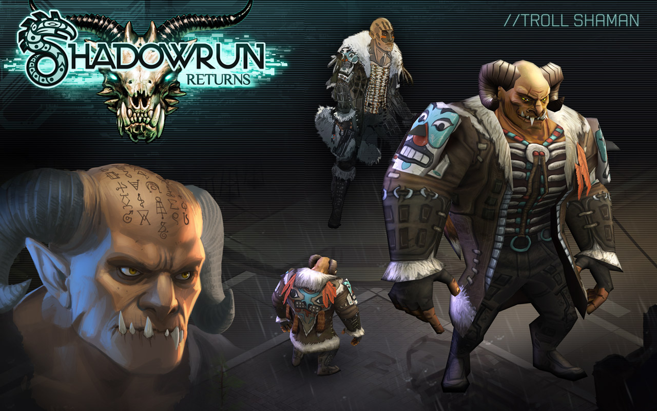 Shadowrun Returns Wallpaper