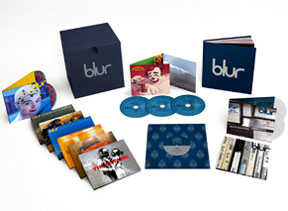 blur box set, blur21, blur 21, blur vinyl