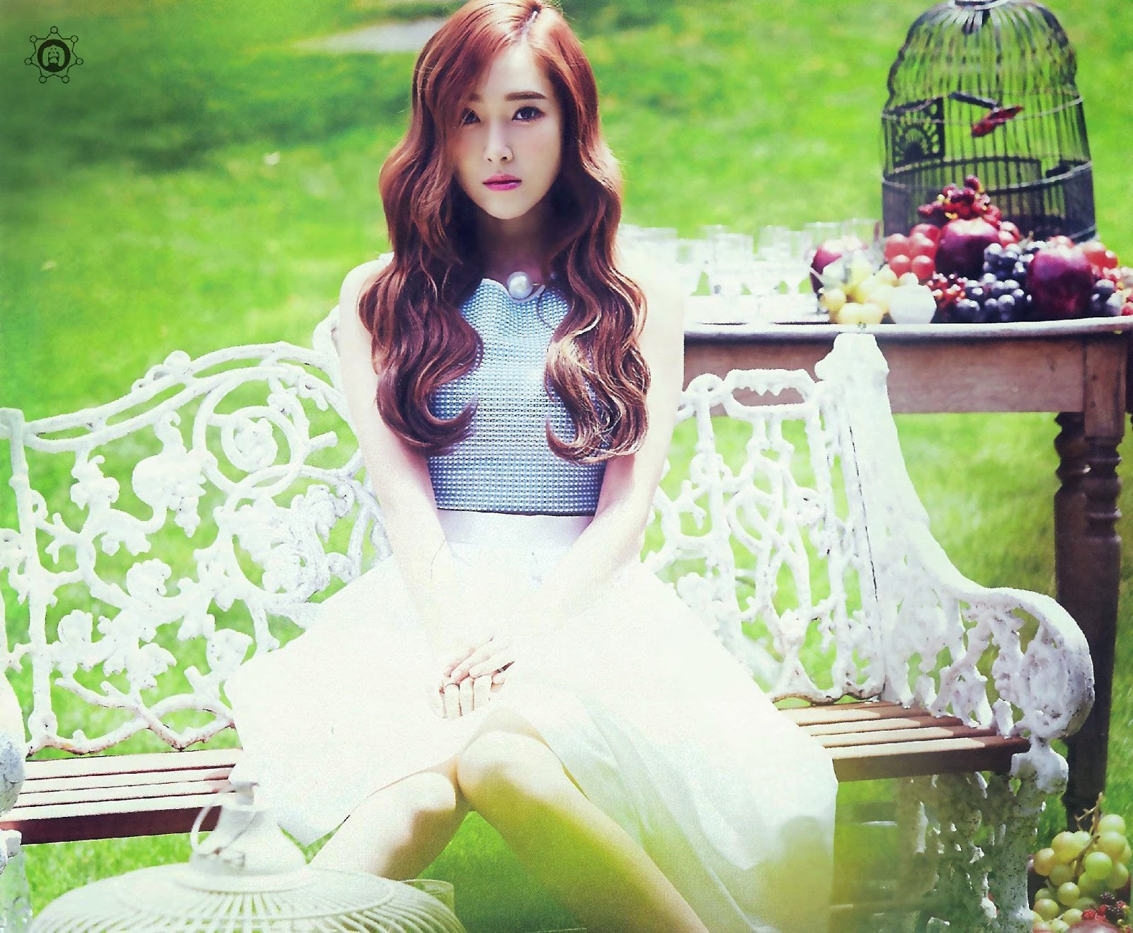 SNSD Jessica (제시카; ジェシカ) Girls Generation The Best Scan Photos 2